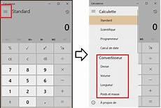 Windows 10 Comment Convertir Des Devises Et Unit 233 S De