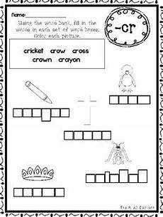 handwriting boxes worksheets 21314 20 letter blends box writing worksheets kindergarten 1st grade ela