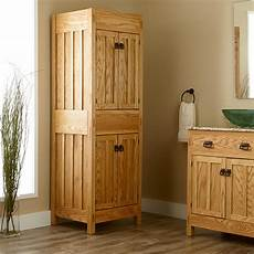 bathroom linen cabinet plans 72 quot mission linen cabinet bathroom