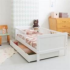 lit surélevé pour enfant lit enfant 140 x 70 cm 2 5 ans massif blanc chambre mister l lit enfant