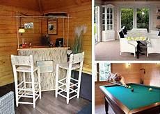 Fernseher Draußen Garten - gartenhaus originell einrichten 20 gro 223 artige inspirationen