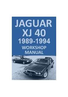 manual repair free 2011 jaguar xj navigation system jaguar xj40 workshop service manual