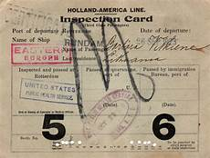 ellis island immigrant document collection gg archives