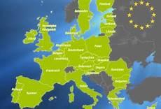 eu länder karte europ 228 ische union karte mit hauptstadt
