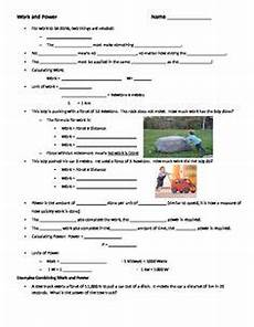 guided notes worksheet to accompany the 5 1 what is energy powerpointthis powerpoint reviews the