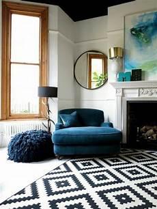 Petrol Farbe Als Wandfarbe Und Deko Wohnzimmer Design