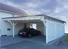 carport am haus mit schuppen pultdach carport solarterrassen carportwerk gmbh