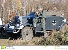 Uniforme Militaire Allemand Ww2 De Personne Photo Stock