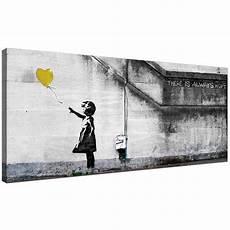 Cheap Yellow Canvas Of Banksy Balloon