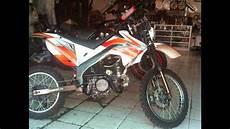 Satria Fu Modif Trail Adventure by Modifikasi Motor 4tak Suzuki Satria Fu Menjadi Trail
