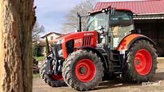 Kubota M7 171 Kvt Essai Tracteur Test Drive