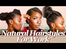 natural hairstyles for work youtube