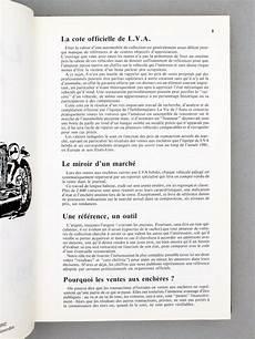 lva la cote lva la vie de l auto la cote officielle de lva la vie de l automobile automobiles de collection