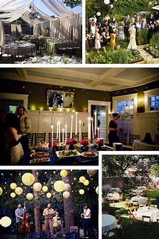get married at home wedding reception at home small wedding receptions wedding reception