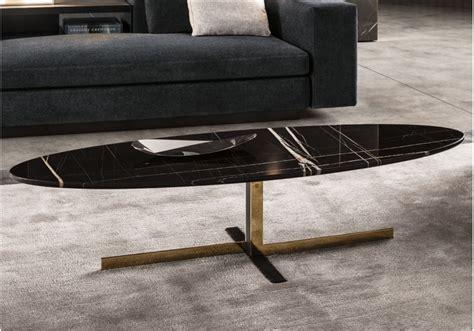 Catlin Oval Coffee Table Minotti