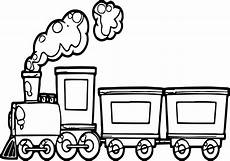 Ausmalbilder Zug Mit Waggons Coloring Page Wecoloringpage In