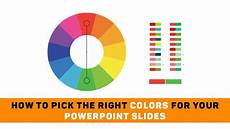 color schemes explained how to choose the right how to the right colors for your powerpoint slides