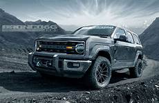 new ford bronco to be 4 door only renderings show potential performancedrive