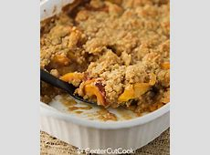 peach crisp recipe with oatmeal