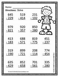 3rd grade math worksheet addition and subtraction word problems 22 best 3 digit addition and subtraction images on