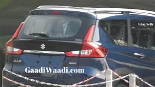 Exclusive Maruti XL6 Ertiga Cross Pics Leaked Launch