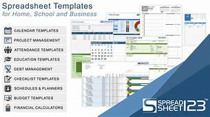 Free Financial Statement Templates  Spreadsheet123