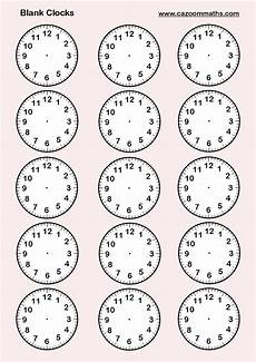 printable time worksheets year 4 3784 blank clocks