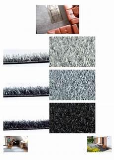 gazon artificiel de couleur moquette exterieur gazon synthetique couleur gris