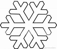 Schneeflocke Malvorlage Einfach Ausmalbilder Winter Und Schnee