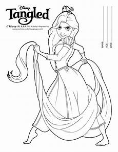 rapunzel coloring pages minister coloring