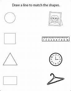 shape activity sheets for the older children worksheets