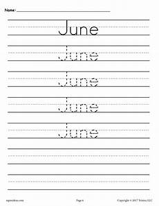 handwriting worksheets year 5 21646 12 free handwriting worksheets months of the year supplyme