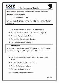 apostrophes for possession worksheet with qr video by uk teaching resources tes