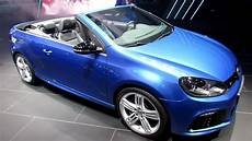 2014 volkswagen golf r cabriolet exterior and interior
