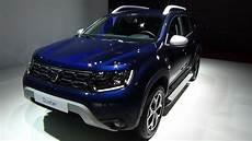 2019 Dacia Duster Prestige Blue Dci 115 4x2 Exterior And