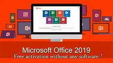 microsoft office 2019 free activation without any