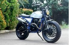 Biaya Modifikasi Scorpio Scrambler by Modifikasi Yamaha Scorpio Scrambler Ala Yamaha Tw