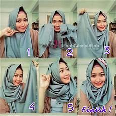Cara Memakai Jilbab Sederhana Sehari Hari Simpang7