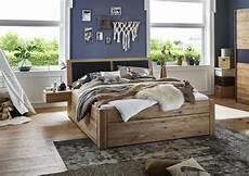 Holzbetten Mit Schubladen - massivholzbett mit 6 schubladen 160x200 54 cm eiche bianco