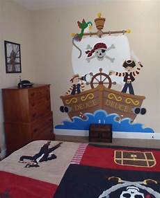 The Buccaneer Wall Mural Pirate Room Decor Pirate Decor