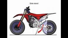2017 Honda Crf450rx Dirt Bike Motorcycle Engine Frame
