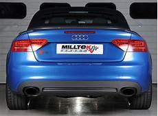 Milltek Performance Duplex Komplettanlage Audi A5 8t