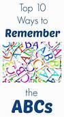 Top 10 Ways To Remember The ABCs  Alphabet Activities