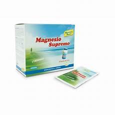 magnesio supremo miglior prezzo magnesio supremo 32 bustine 2 4g para farmacia di