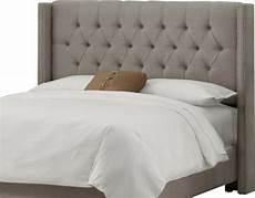 tete de lit en tissu capitonne