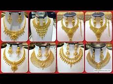latest dubai gold necklace designs 22k gold jewellery designs dubai gold market youtube