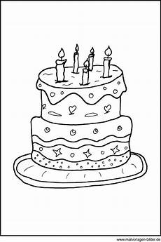 Kinder Malvorlagen Torte Malvorlage Geburtstagstorte Ausmalbilder Ausmalen