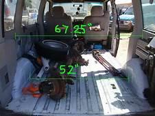 Chevrolet Astro Cargo Van Interior Dimensions