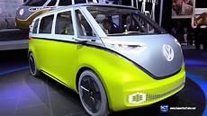 2018 Volkswagen I D Buzz Concept Exterior Interior