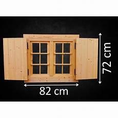 holzfenster für gartenhaus holzfenster doppelfl 252 gel fl 82 x 72 cm